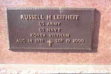 LEIFHEIT, RUSSELL H. - Gallia County, Ohio | RUSSELL H. LEIFHEIT - Ohio Gravestone Photos