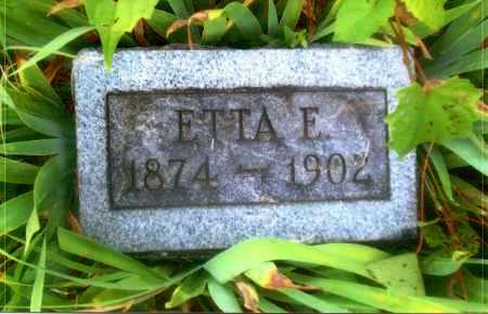 LEMLEY, ETTA E. - Gallia County, Ohio | ETTA E. LEMLEY - Ohio Gravestone Photos