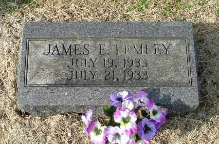 LEMLEY, JAMES ELDON - Gallia County, Ohio | JAMES ELDON LEMLEY - Ohio Gravestone Photos
