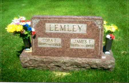 LEMLEY, JAMES T - Gallia County, Ohio | JAMES T LEMLEY - Ohio Gravestone Photos