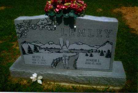 LEMLEY, JUNIOR L. - Gallia County, Ohio | JUNIOR L. LEMLEY - Ohio Gravestone Photos