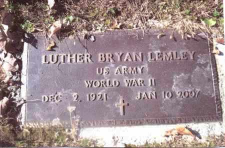 LEMLEY, LUTHER BRYON - Gallia County, Ohio | LUTHER BRYON LEMLEY - Ohio Gravestone Photos