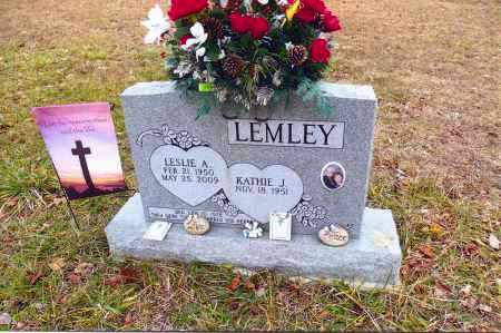 LEMLEY, KATHIE J. - Gallia County, Ohio | KATHIE J. LEMLEY - Ohio Gravestone Photos