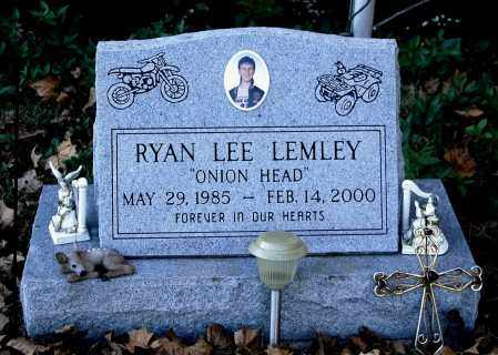 LEMLEY, RYAN LEE - Gallia County, Ohio | RYAN LEE LEMLEY - Ohio Gravestone Photos