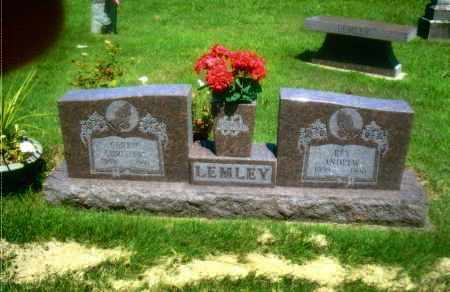 WARD LEMLEY, CARRIE CHRISTINE - Gallia County, Ohio | CARRIE CHRISTINE WARD LEMLEY - Ohio Gravestone Photos