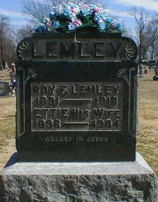 LEMLEY, ETTIE - Gallia County, Ohio | ETTIE LEMLEY - Ohio Gravestone Photos
