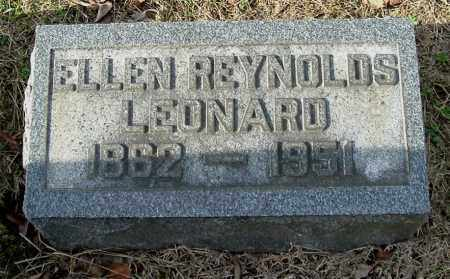 REYNOLDS LEONARD, ELLEN - Gallia County, Ohio | ELLEN REYNOLDS LEONARD - Ohio Gravestone Photos