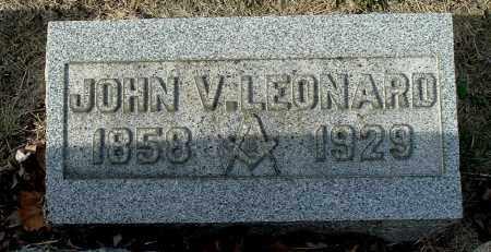LEONARD, JOHN VALENTINE - Gallia County, Ohio | JOHN VALENTINE LEONARD - Ohio Gravestone Photos