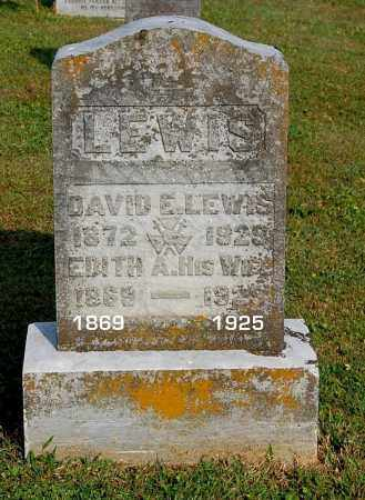 THOMAS LEWIS, EDITH A - Gallia County, Ohio | EDITH A THOMAS LEWIS - Ohio Gravestone Photos