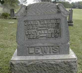 LEWIS, LUCY - Gallia County, Ohio | LUCY LEWIS - Ohio Gravestone Photos