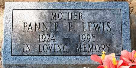 LEWIS, FANNIE - Gallia County, Ohio | FANNIE LEWIS - Ohio Gravestone Photos