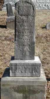 LINTON, SENAH U. - Gallia County, Ohio   SENAH U. LINTON - Ohio Gravestone Photos
