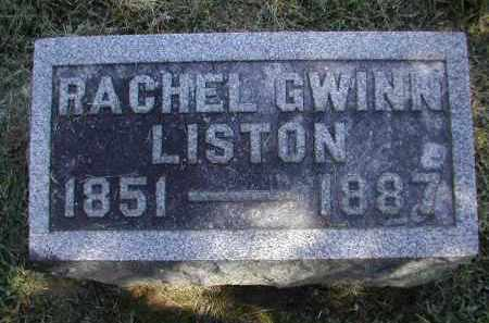 LISTON, RACHEL - Gallia County, Ohio | RACHEL LISTON - Ohio Gravestone Photos