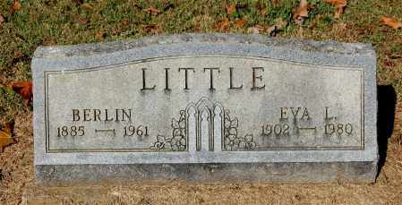 LITTLE, BERLIN - Gallia County, Ohio | BERLIN LITTLE - Ohio Gravestone Photos