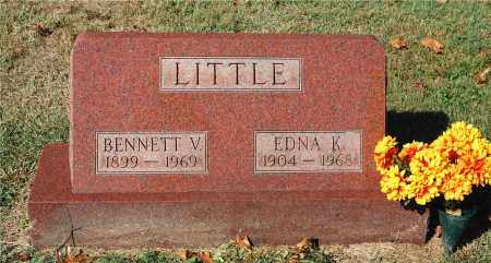 MORRIS LITTLE, EDNA K - Gallia County, Ohio | EDNA K MORRIS LITTLE - Ohio Gravestone Photos