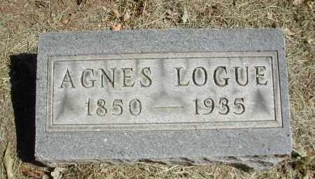 LOGUE, AGNES - Gallia County, Ohio | AGNES LOGUE - Ohio Gravestone Photos