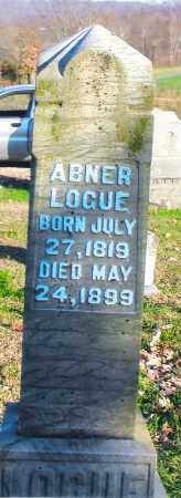 LOGUE, ABNER - Gallia County, Ohio | ABNER LOGUE - Ohio Gravestone Photos