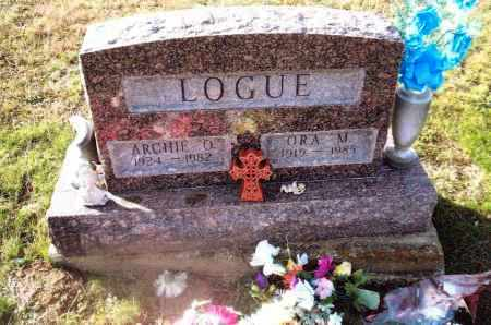 LOGUE, ARCHIE O. - Gallia County, Ohio | ARCHIE O. LOGUE - Ohio Gravestone Photos