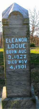 LOGUE, ELEANOR - Gallia County, Ohio | ELEANOR LOGUE - Ohio Gravestone Photos