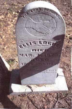 LOGUE, ELLIS - Gallia County, Ohio | ELLIS LOGUE - Ohio Gravestone Photos