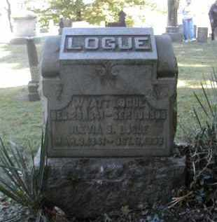 LOGUE, WYATT - Gallia County, Ohio | WYATT LOGUE - Ohio Gravestone Photos