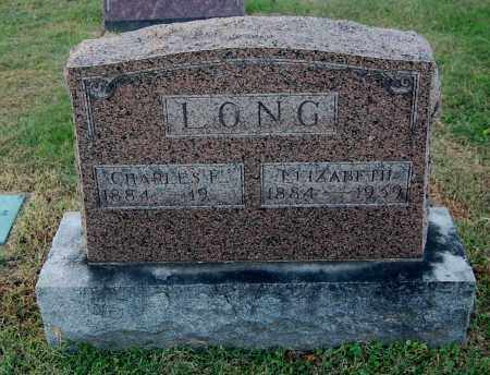 LONG, CHARLES E - Gallia County, Ohio | CHARLES E LONG - Ohio Gravestone Photos