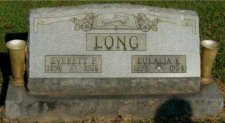 LONG, EVERETT F - Gallia County, Ohio | EVERETT F LONG - Ohio Gravestone Photos
