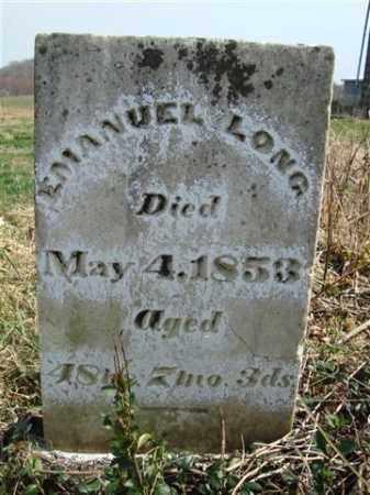 LONG, EMANUEL - Gallia County, Ohio | EMANUEL LONG - Ohio Gravestone Photos