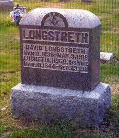 LONGSTRETH, LUCRETIA - Gallia County, Ohio | LUCRETIA LONGSTRETH - Ohio Gravestone Photos