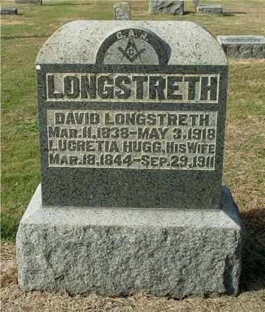 HUGG LONGSTRETH, LUCRETIA - Gallia County, Ohio | LUCRETIA HUGG LONGSTRETH - Ohio Gravestone Photos