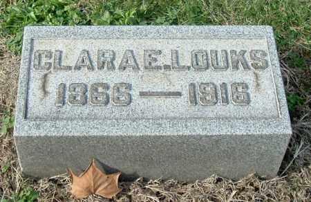 LOUKS, CLARA E - Gallia County, Ohio | CLARA E LOUKS - Ohio Gravestone Photos