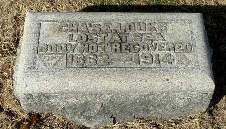 LOUKS, CHARLES E - Gallia County, Ohio   CHARLES E LOUKS - Ohio Gravestone Photos