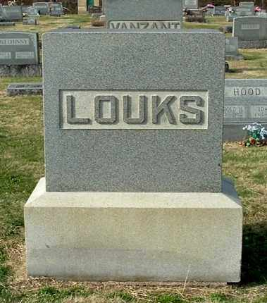 LOUKS, FAMILY MONUMENT - Gallia County, Ohio | FAMILY MONUMENT LOUKS - Ohio Gravestone Photos