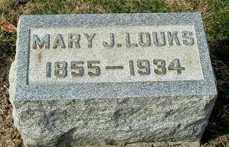 LOUKS, MARY JANE - Gallia County, Ohio | MARY JANE LOUKS - Ohio Gravestone Photos