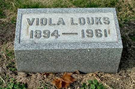 LOUKS, VIOLA - Gallia County, Ohio | VIOLA LOUKS - Ohio Gravestone Photos