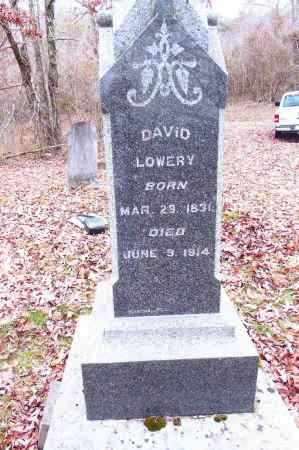 LOWERY, DAVID - Gallia County, Ohio | DAVID LOWERY - Ohio Gravestone Photos