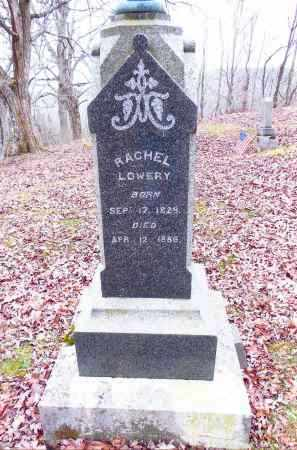 LOWERY, RACHEL - Gallia County, Ohio | RACHEL LOWERY - Ohio Gravestone Photos
