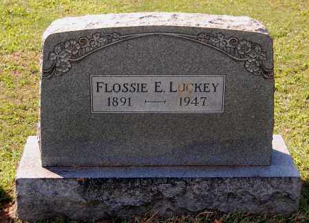 LUCKEY, FLOSSIE E - Gallia County, Ohio | FLOSSIE E LUCKEY - Ohio Gravestone Photos