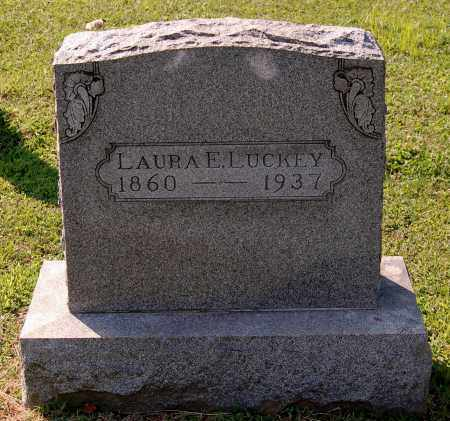 EVANS LUCKEY, LAURA E - Gallia County, Ohio | LAURA E EVANS LUCKEY - Ohio Gravestone Photos