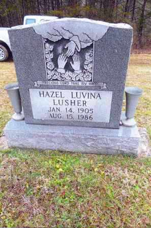 LUSHER, HAZEL LUVINA - Gallia County, Ohio | HAZEL LUVINA LUSHER - Ohio Gravestone Photos