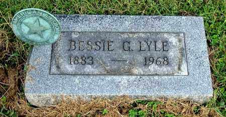 LYLE, BESSIE G - Gallia County, Ohio | BESSIE G LYLE - Ohio Gravestone Photos