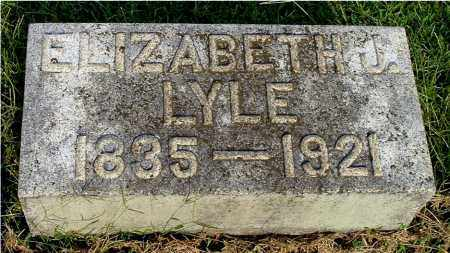 REYNOLDS LYLE, ELIZABETH JANE - Gallia County, Ohio | ELIZABETH JANE REYNOLDS LYLE - Ohio Gravestone Photos