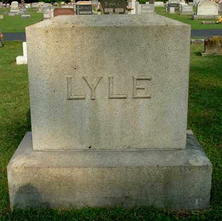 LYLE, FAMILY MONUMENT - Gallia County, Ohio | FAMILY MONUMENT LYLE - Ohio Gravestone Photos