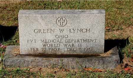 LYNCH, GREEN W - Gallia County, Ohio | GREEN W LYNCH - Ohio Gravestone Photos