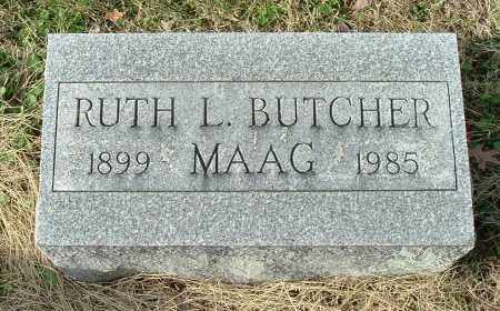 BUTCHER MAAG, RUTH L - Gallia County, Ohio | RUTH L BUTCHER MAAG - Ohio Gravestone Photos