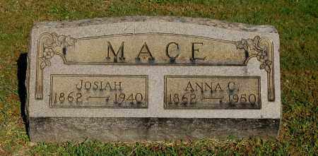 MACE, JOSIAH - Gallia County, Ohio | JOSIAH MACE - Ohio Gravestone Photos