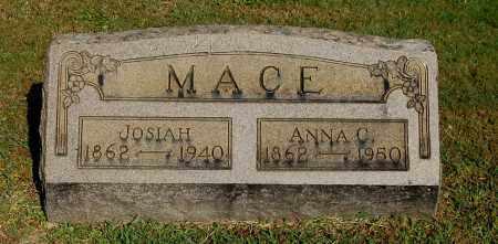 MACE, ANNA C - Gallia County, Ohio | ANNA C MACE - Ohio Gravestone Photos