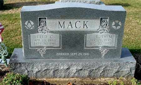 MACK, RUTH M - Gallia County, Ohio | RUTH M MACK - Ohio Gravestone Photos