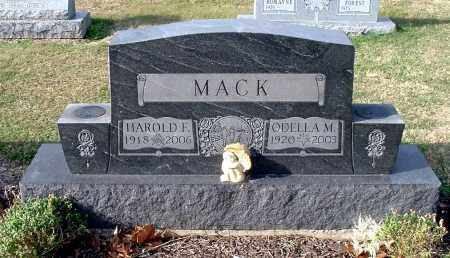 MACK, HAROLD F - Gallia County, Ohio | HAROLD F MACK - Ohio Gravestone Photos