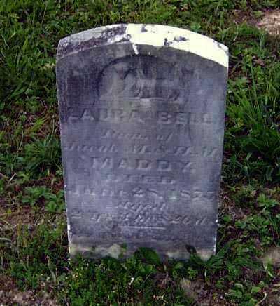 MADDY, LAURA BELLE - Gallia County, Ohio | LAURA BELLE MADDY - Ohio Gravestone Photos